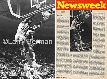 Newsweek - May 24th 1976 - The last ABA game